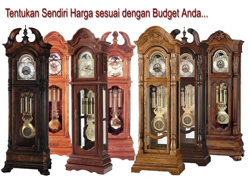 Jual Jam Hias Grandfather Clock