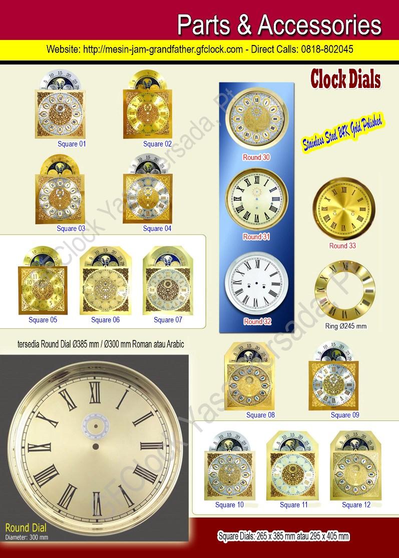 Aksesoris Mesin Jam dan Dial