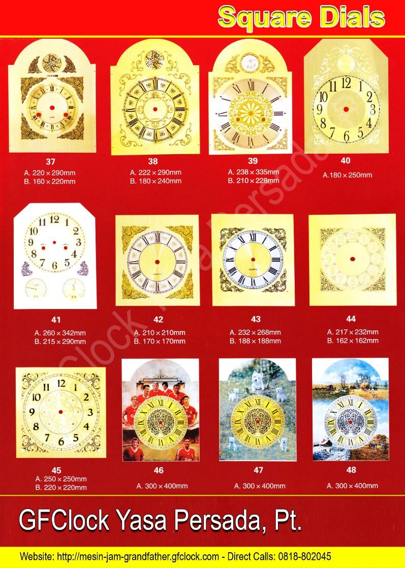Plat Jam Kotak