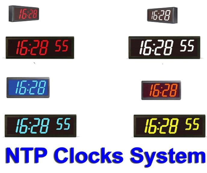 NTP Master Clock System