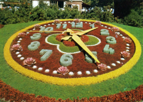 Jual Flower Clock