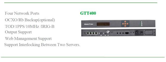 Master Clock Server GTT-400