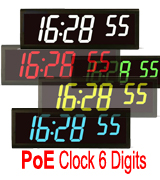 Jual PoE Digital Clock