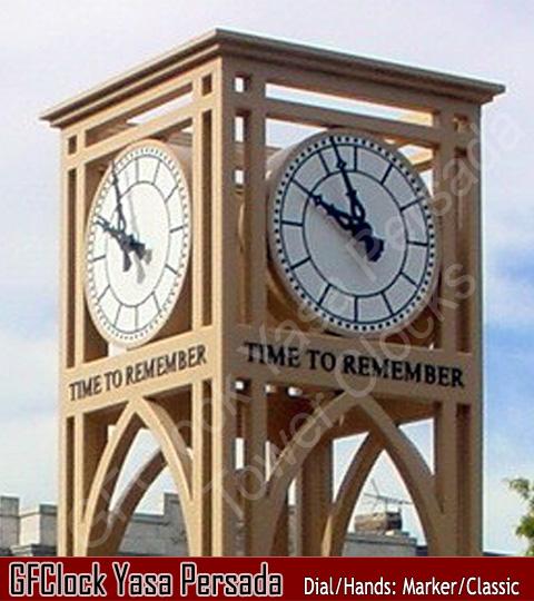 Jam Besar Outdoor clock